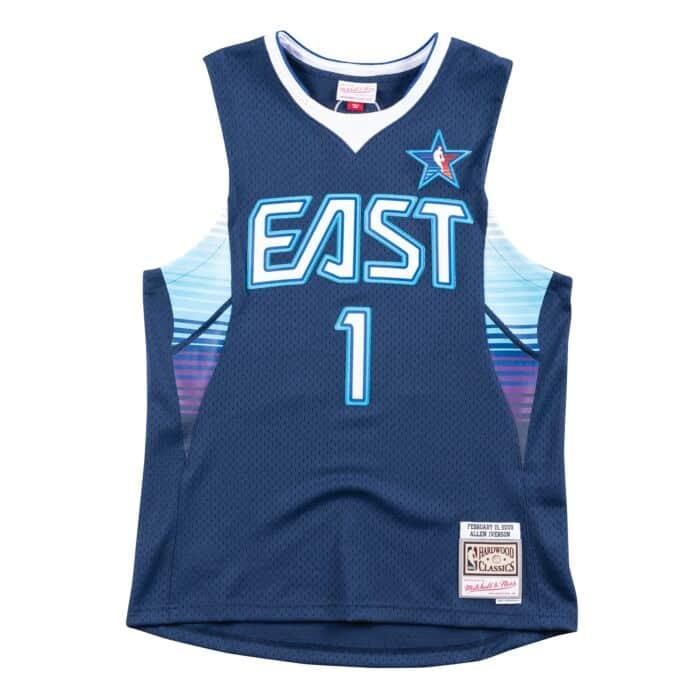 promo code 7045b 6163e Swingman Jersey All-Star East 2009 Allen Iverson