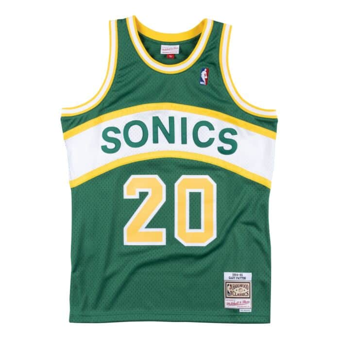 newest 47740 1798a Swingman Jersey Seattle SuperSonics Road 1994 Gary Payton ...