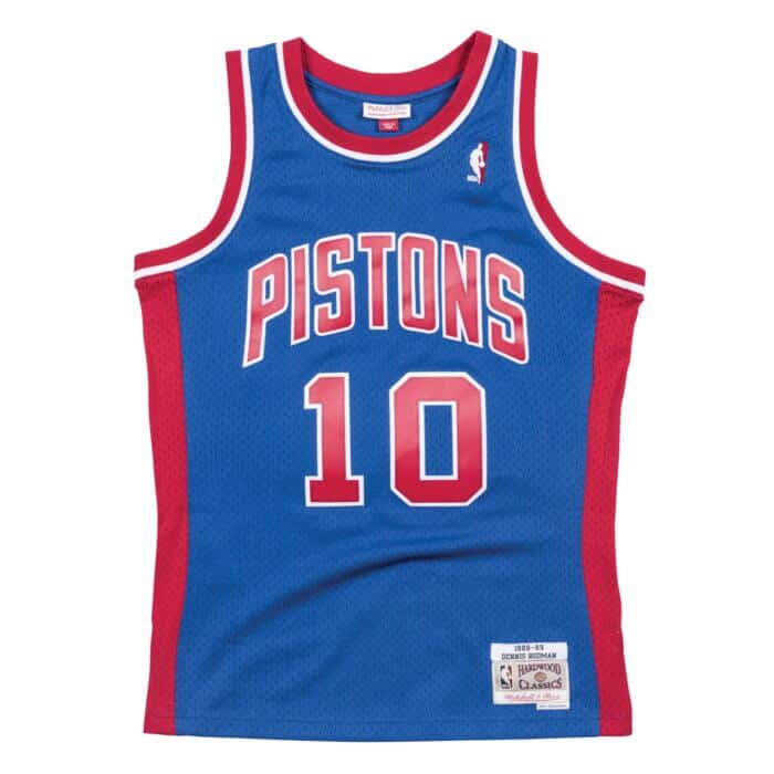 san francisco 6d8c3 06afc Swingman Jersey Detroit Pistons Road 1988-89 Dennis Rodman ...