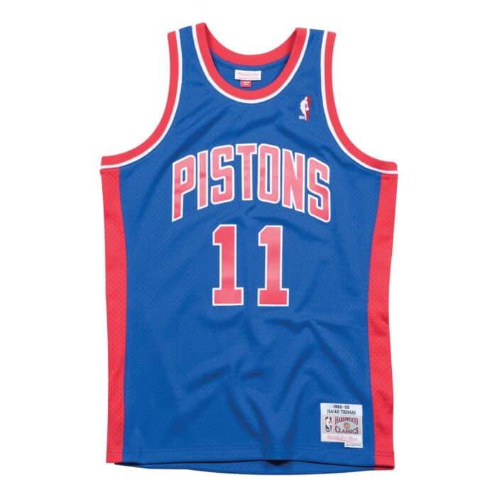 save off 523a7 6d5ed Swingman Jersey Detroit Pistons 1988-89 Isiah Thomas