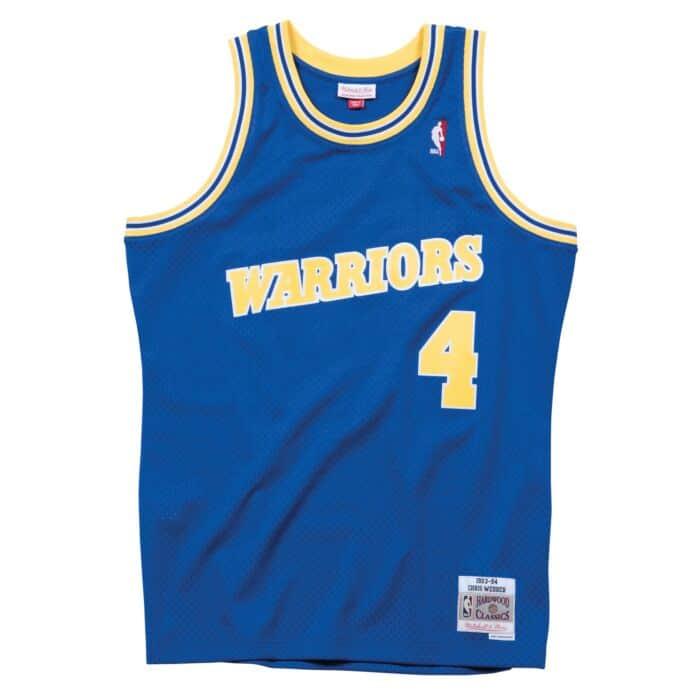 best service 4c77a 10069 Swingman Jersey Golden State Warriors Road 1993-94 Chris Webber