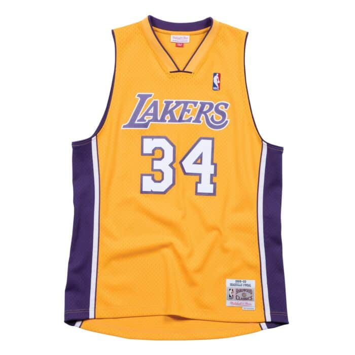 best loved d232f cfb2c Swingman Jersey Los Angeles Lakers Home 1999-00 Shaquille O'Neal