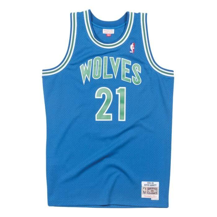 new product 6c224 f907c Swingman Jersey Minnesota Timberwolves 1995-96 Kevin Garnett ...