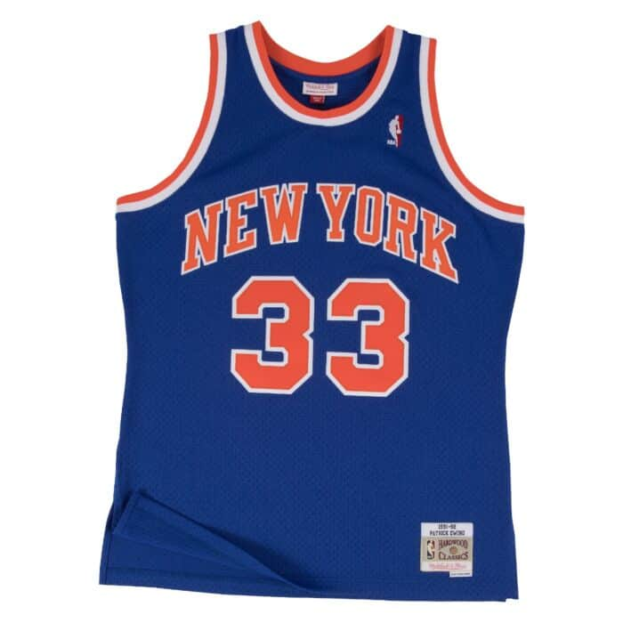info for b86e1 d6d67 Swingman Jersey New York Knicks 1991-92 Patrick Ewing