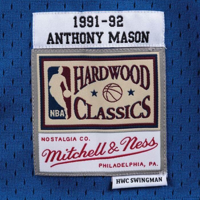 separation shoes cf576 08c17 Swingman Jersey New York Knicks Road 1991-92 Anthony Mason ...