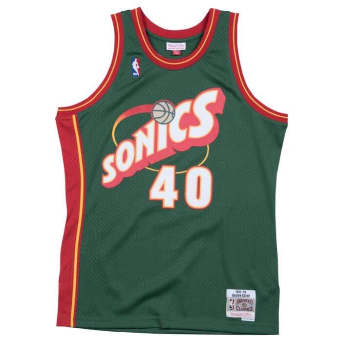half off 82ad8 34ac1 Swingman Jersey Seattle SuperSonics 1995-96 Shawn Kemp