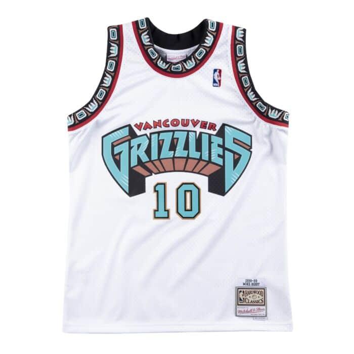 buy popular a65dd 7648e Swingman Jersey Vancouver Grizzlies Home 1998-99 Mike Bibby ...