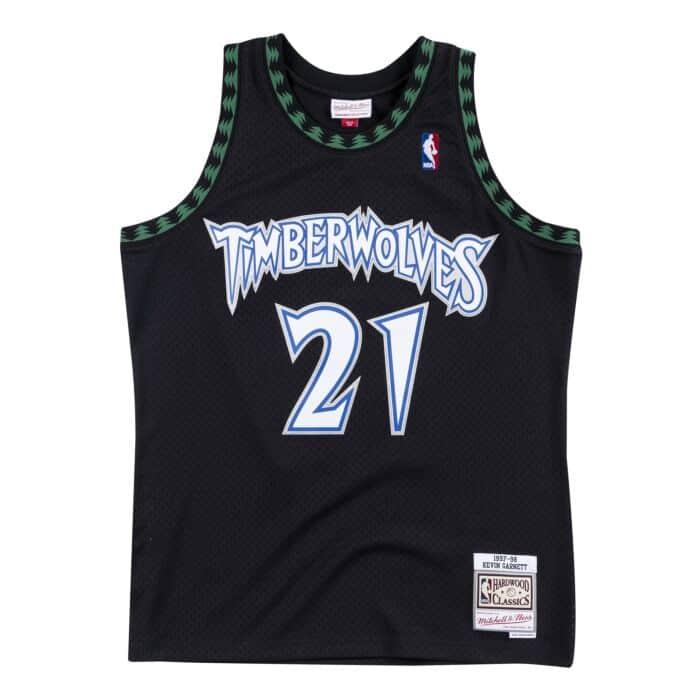 on sale 12c11 ef8a3 Swingman Jersey Minnesota Timberwolves Alternate 1997-98 ...