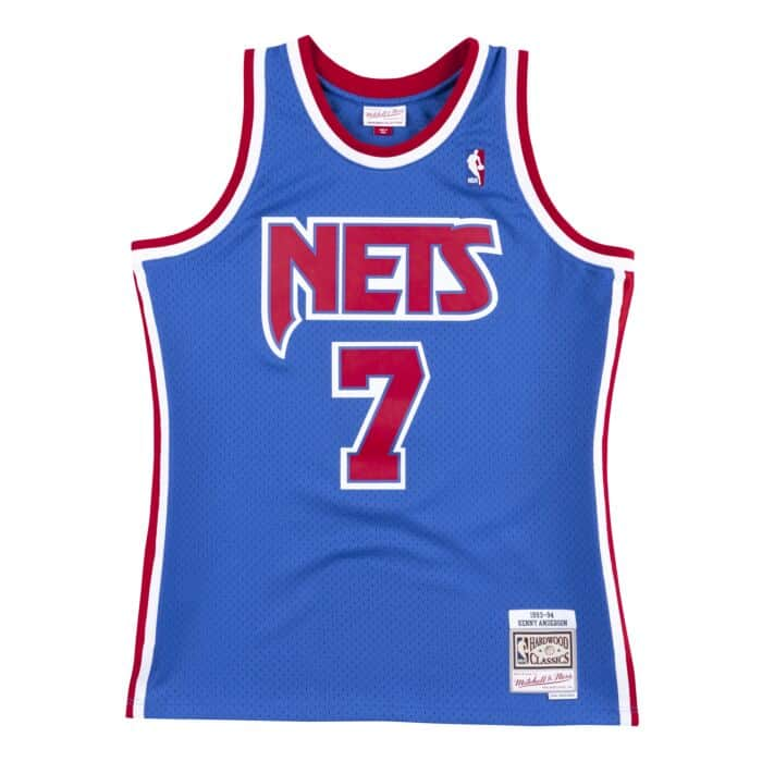 reputable site e3a06 fa689 Swingman Jersey New Jersey Nets 1993-94 Kenny Anderson