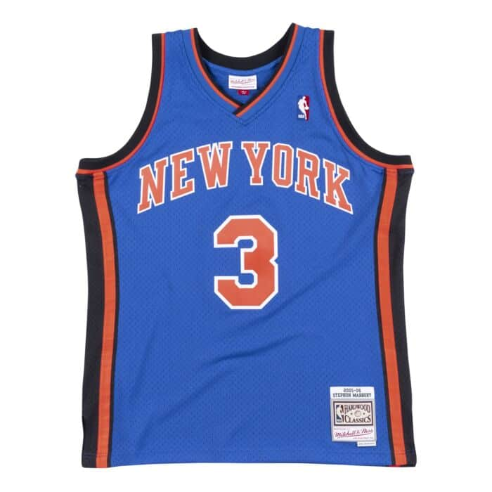 reputable site 27d9c 296c9 Swingman Jersey New York Knicks 2005-06 Stephon Marbury