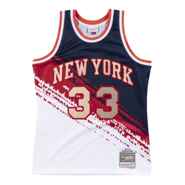 new product 4a86a 7457b Independence Swingman Jersey New York Knicks Patrick Ewing