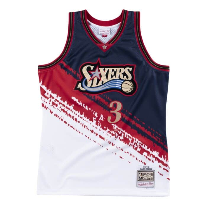 online store 4fb1e c77ed Independence Swingman Jersey Philadelphia 76ers Allen ...