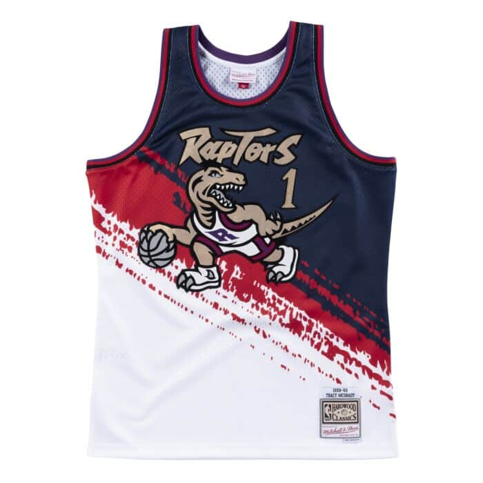 on sale 5157f 29a60 Independence Swingman Jersey Toronto Raptors Tracy McGrady ...