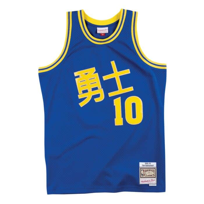 brand new 1f2a2 df753 CNY Swingman Jersey Golden State Warriors 1990-91 Tim ...