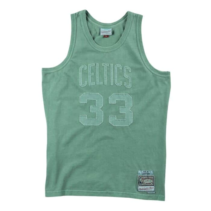 the latest a603c e9b2d Washed Out Swingman Jersey Boston Celtics 1985-86 Larry Bird ...