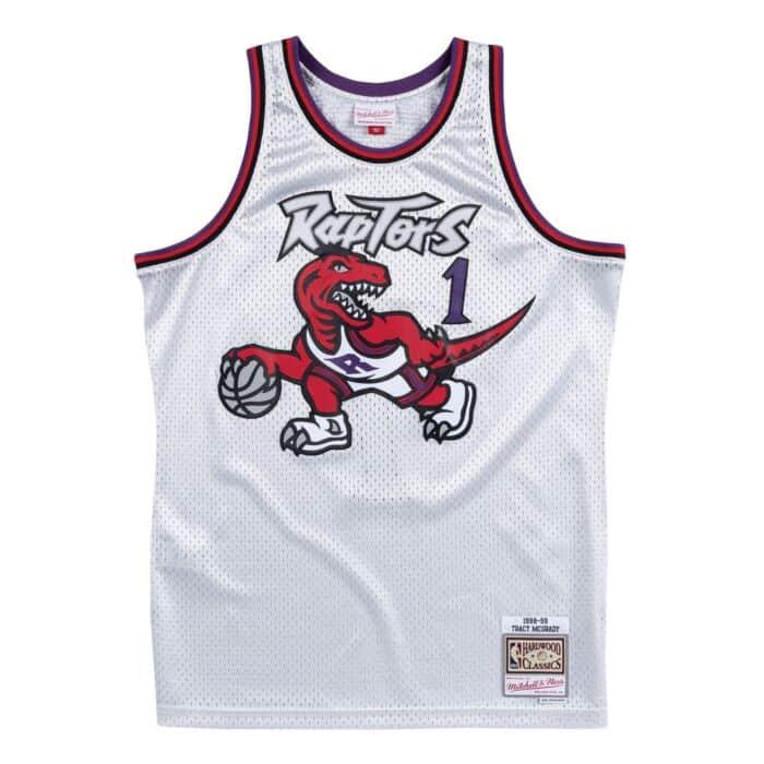 huge inventory 7df10 69080 Platinum Swingman Jersey Toronto Raptors 1998-99 Tracy ...