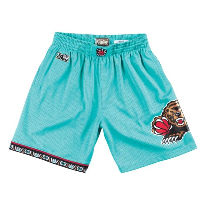 246c8c5af9889 CNY Swingman Shorts Vancouver Grizzlies 1998-99 - Shop Mitchell & Ness  Bottoms and Shorts Mitchell & Ness Nostalgia Co.