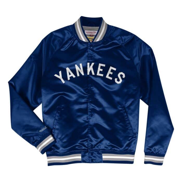 more photos 13aaa 10b88 Lightweight Satin Jacket New York Yankees