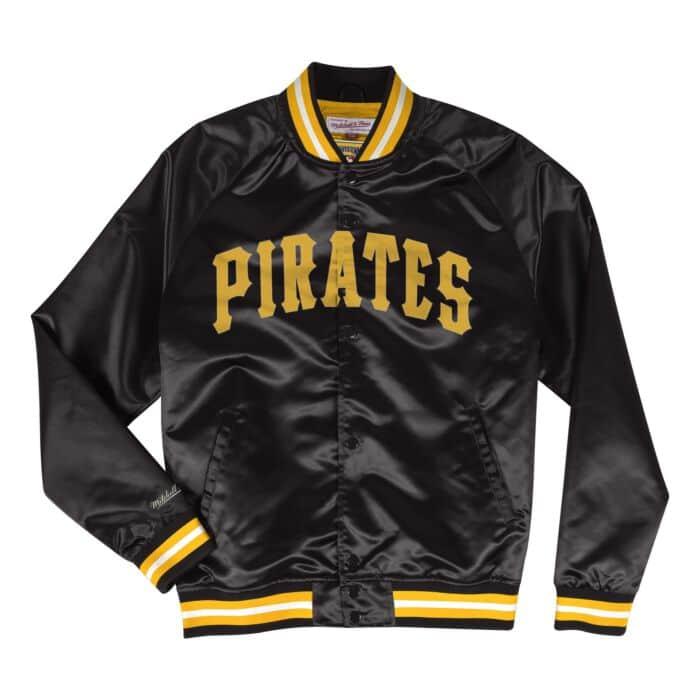 sale retailer 9713c 5c97a Lightweight Satin Jacket Pittsburgh Pirates - Shop Mitchell ...