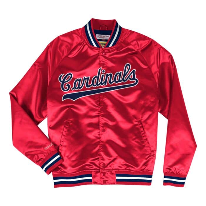 best sneakers 2a8b8 9e4b1 Lightweight Satin Jacket St. Louis Cardinals
