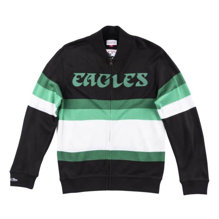 new products e3145 a81df Front Stripe Sweater Philadelphia Eagles - Shop Mitchell ...