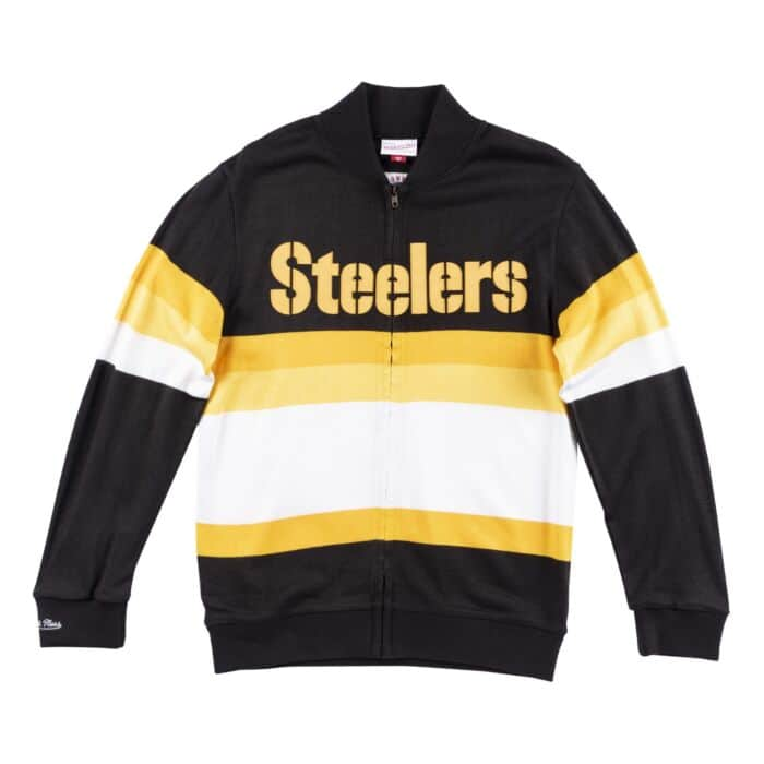 hot sale online f4a76 e564d Front Stripe Sweater Pittsburgh Steelers - Shop Mitchell ...