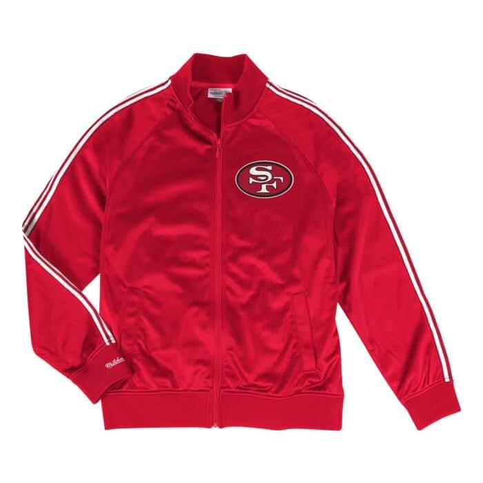 buy online bb891 8a8d9 Track Jacket San Francisco 49ers