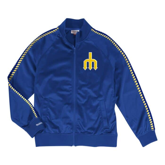 sports shoes 77a79 ca2c1 Track Jacket Seattle Mariners