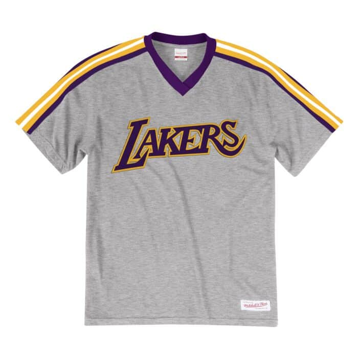 the latest 9208f e3d23 Overtime Win V-Neck Los Angeles Lakers