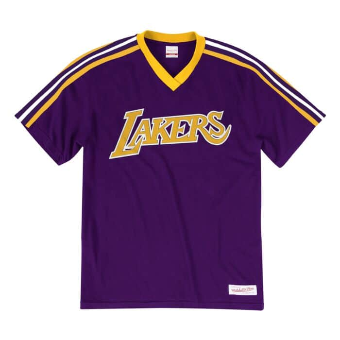 official photos 12b37 cde69 Overtime Win V-Neck Tee Los Angeles Lakers