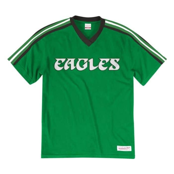competitive price be79c 6bebd Overtime Win V-Neck Philadelphia Eagles - Shop Mitchell ...