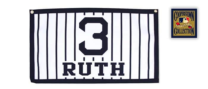 on sale a8af1 c8f88 New York Yankees Banner - Babe Ruth